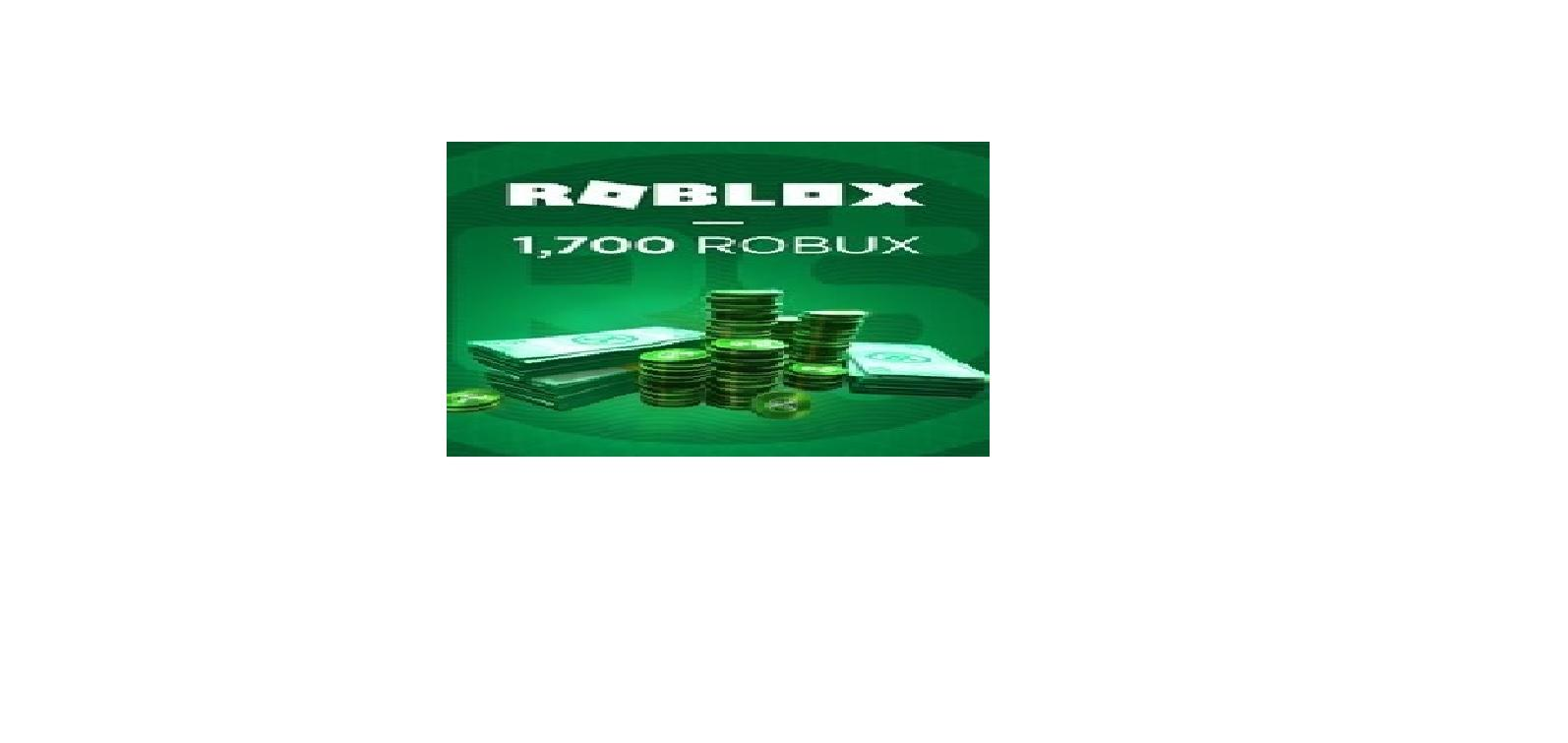 Roblox - 1700 Robux