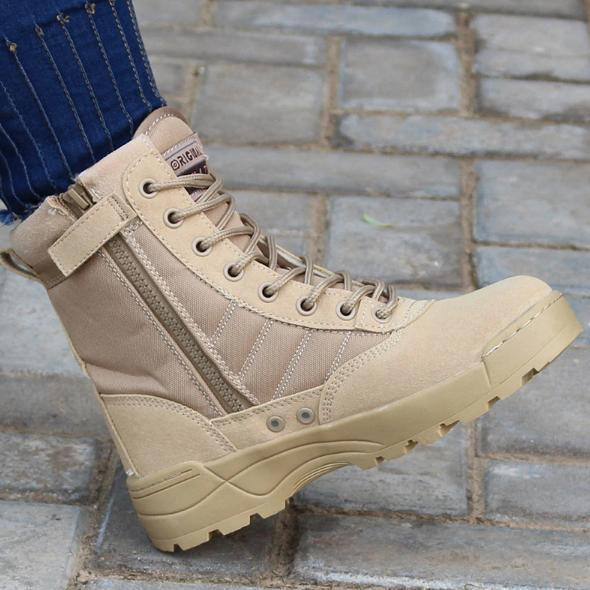 New 2021 Long Army Ankle Boot for Men
