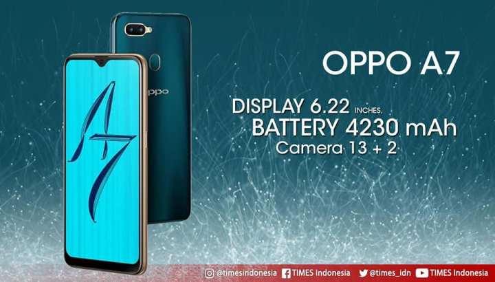 OPPO A7 3GB RAM & 64GB ROM