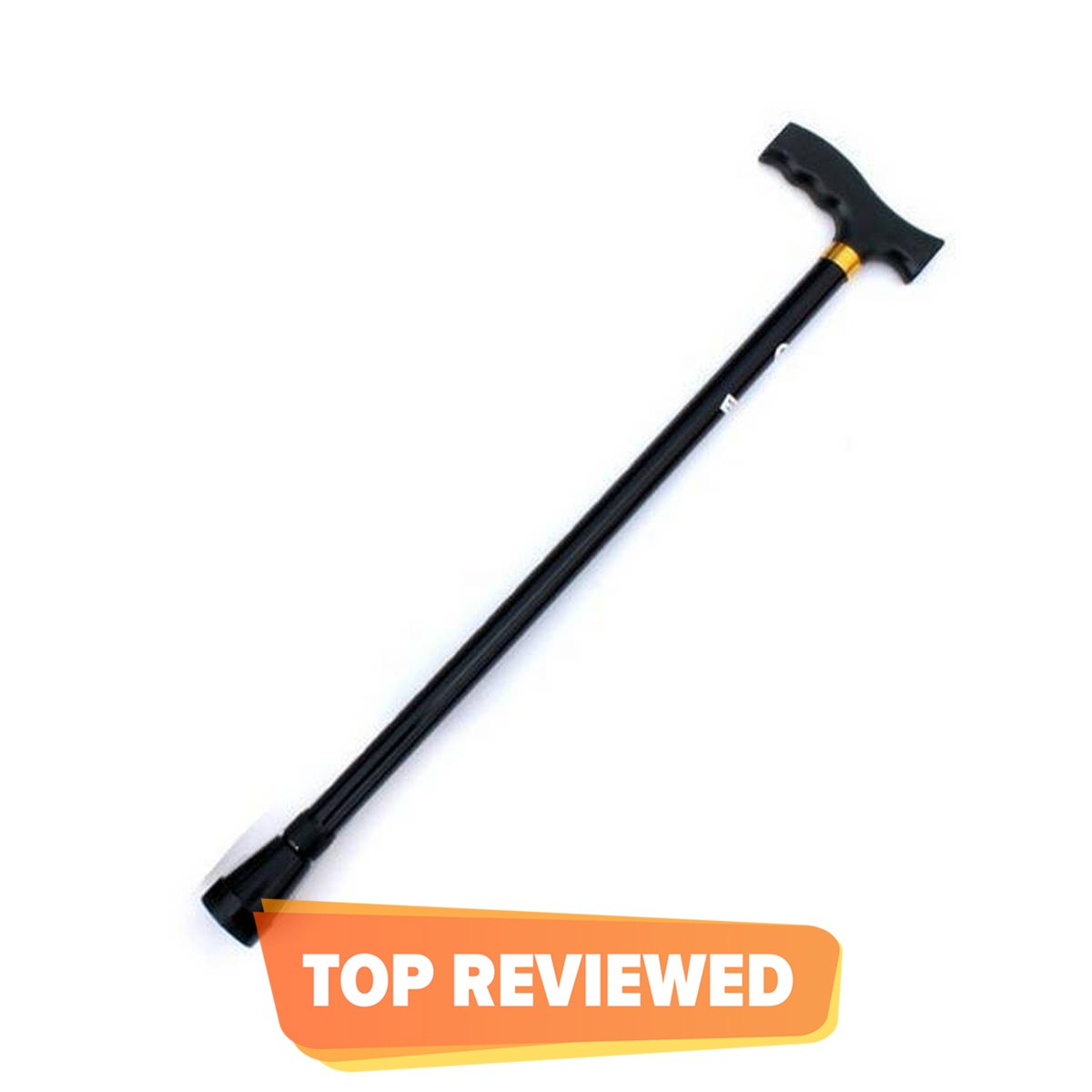 Outdoor thick aluminum telescopic cane adjustable height old man walking stick