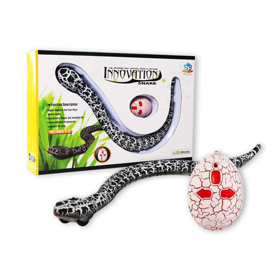 Innovation Rattle Snake Robot Animal Infrared Electric Super Realistic RC