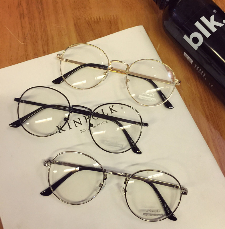 Transparent Round Classy Glasses For Unisex – Transparent Lens