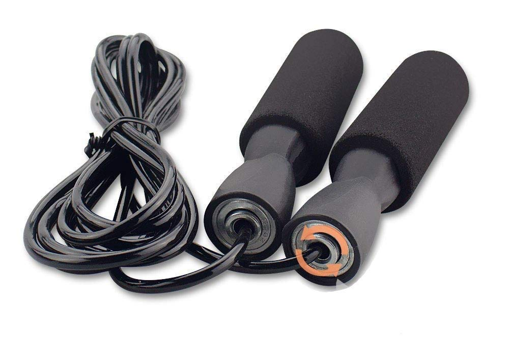 Safdar Mart- Fitness Jumping Skipping Rope for Gym Training, Exercise and Workout for Man, Woman ,Foam Handle Ball Bearing Skipping Rope, multicolors