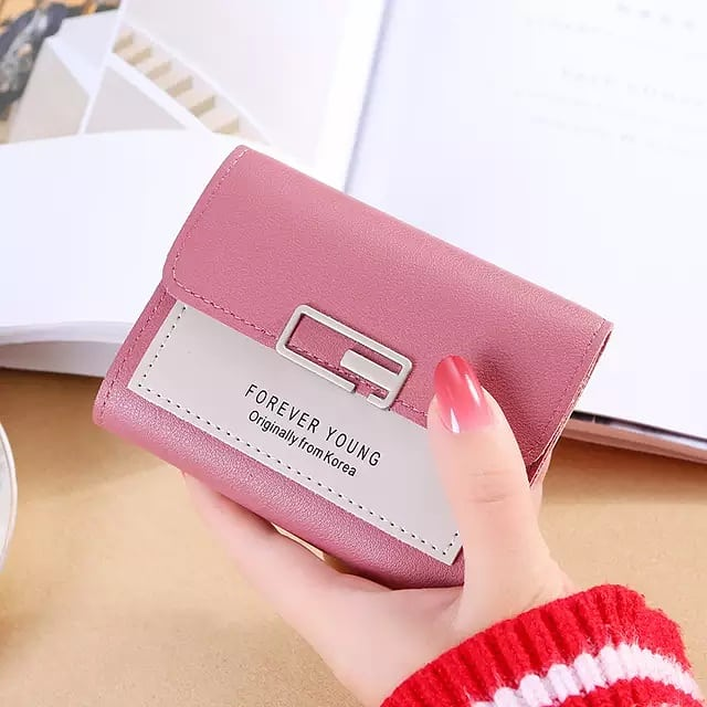 Fashion Brand Designer Small Wallet For Women and Girls Card Holder Coin Purses  Ladies Slim wallet High Quality Female Purses