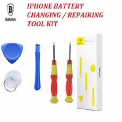 BASEUS TOOL KIT FOR REPAIRING / CHANGING IPHONE'S BATTERIES - DO IT YOUR  SELF