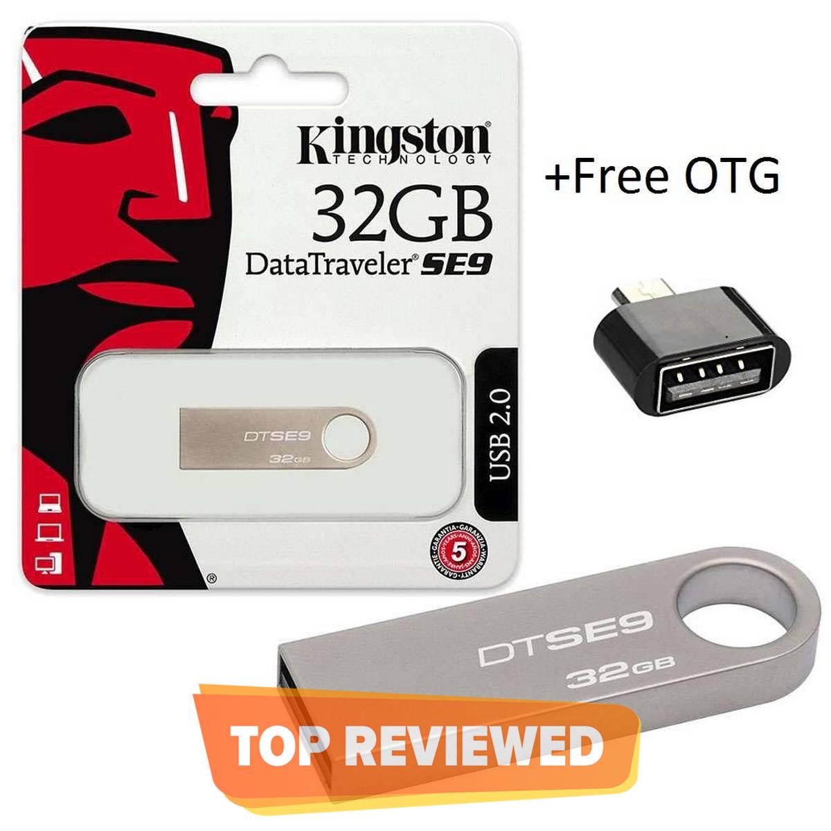 32GB USB SE9 + Free OTG , FLASH DRIVE
