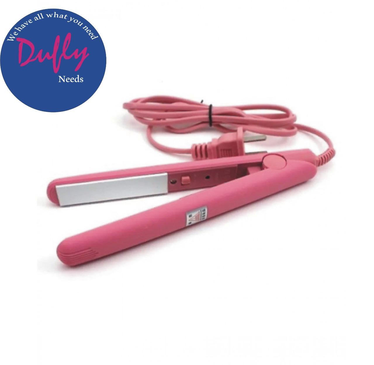 Original Hair Straightner And Straightener - Girls Favourite -  Portable Mini Hair Straightener - Girls Choice