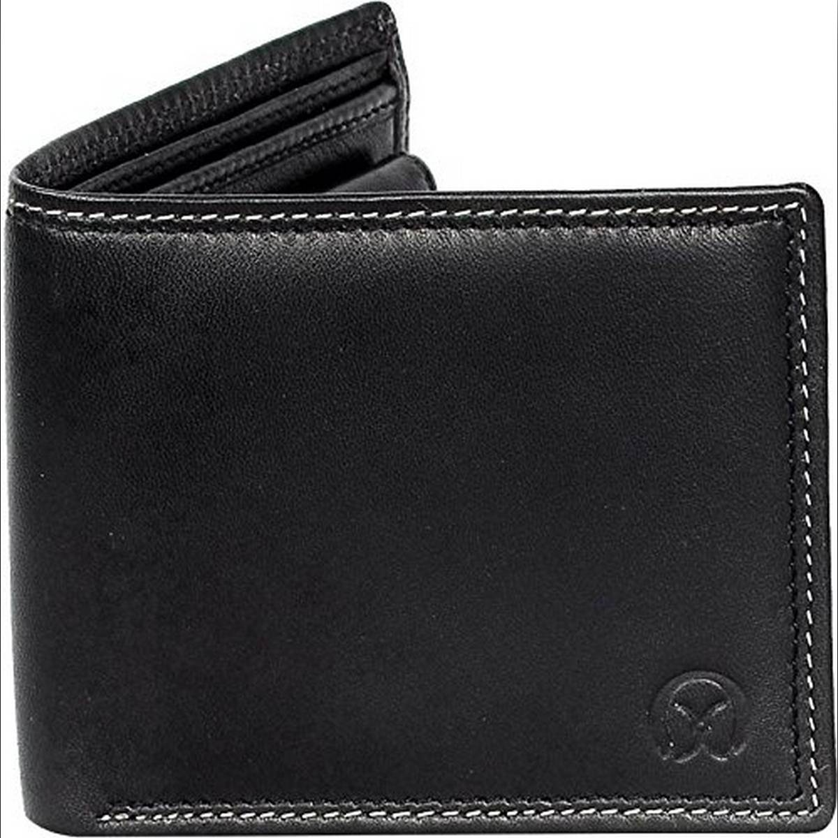 Leather Style Wallet  Black