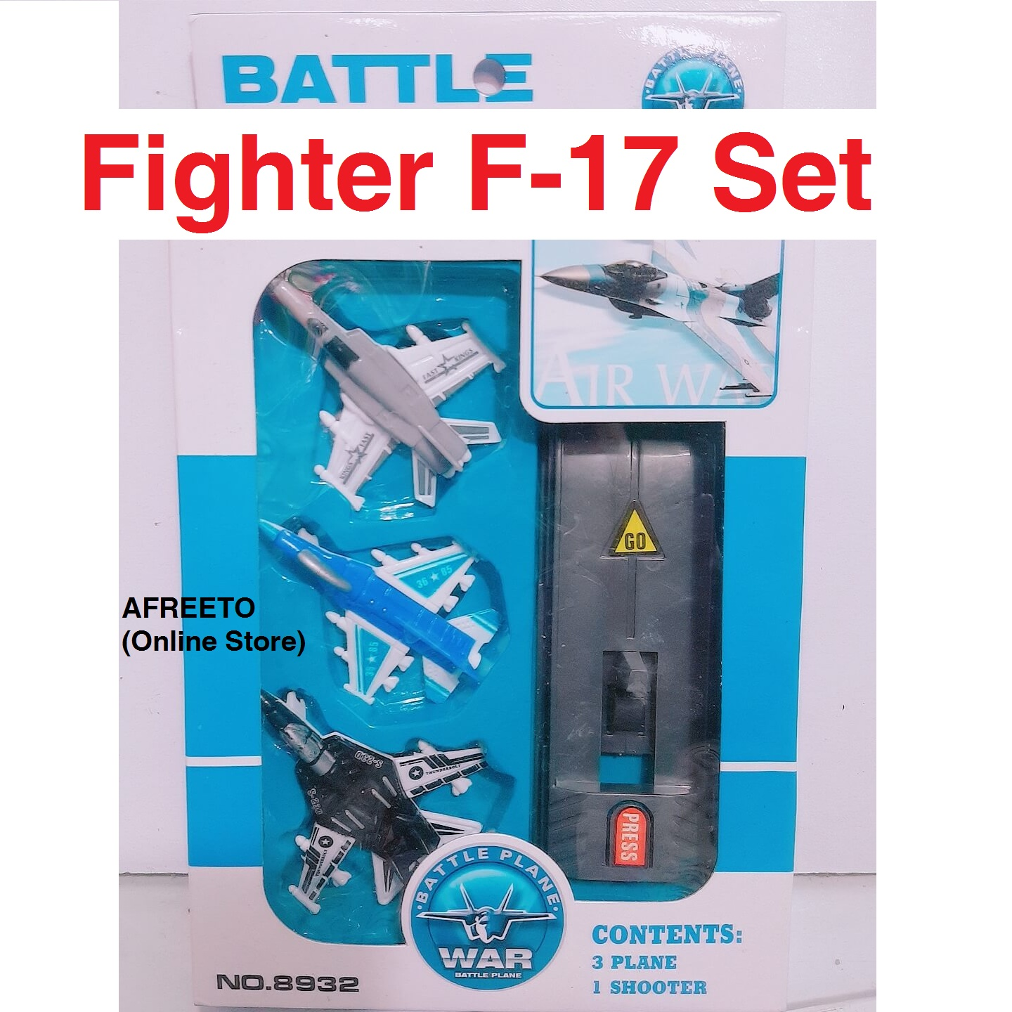 Aeroplane toy set aerospace Fighter Jet Planes Set Airplane with Launching pad New Design F-17 Planes