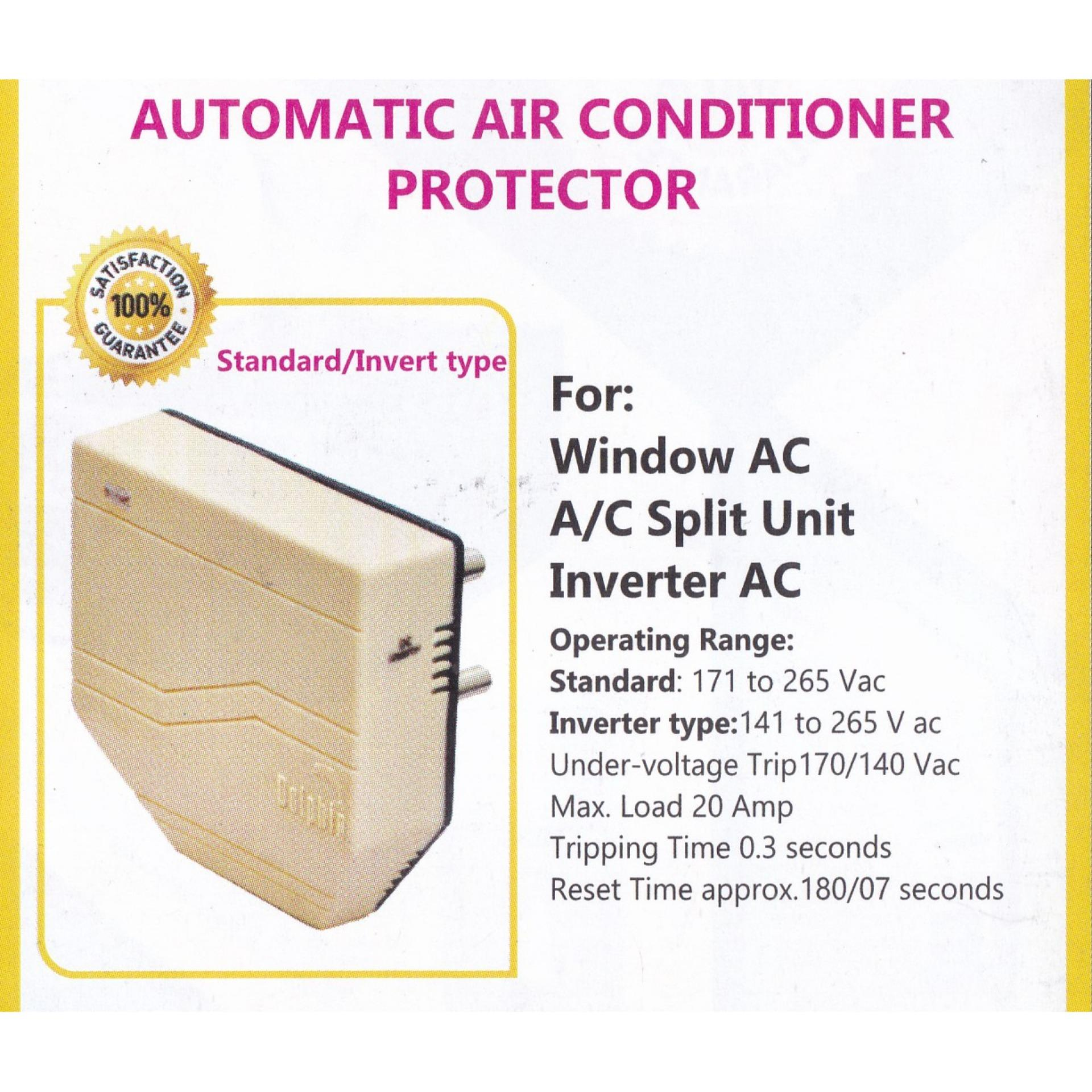 Automatic Air Conditioner Protector - Voltage Protector - Surge Protector