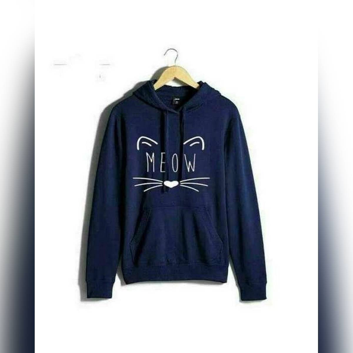 Blue Meao Hoodie For Girls And Women