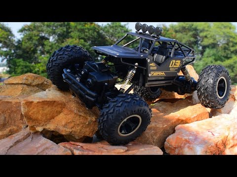 Remote Control Rock Crawler Drift  Monster Truck - Rock Climber Off Road car Toy