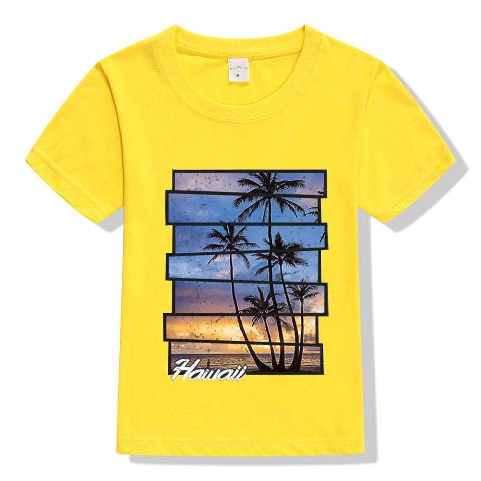 Summer Digital Printed T-Shirt For Kids