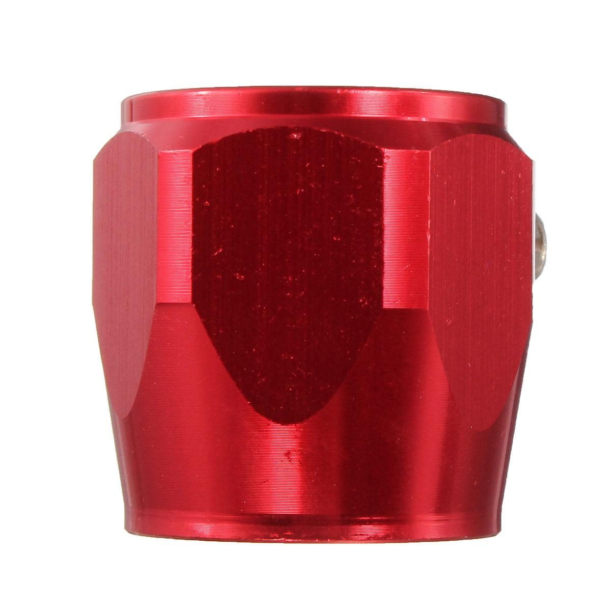 AN12 12 AN 24mm RED HOSE END FINISHER Fuel Oil Water Pipe JUBILEE CLIP Clamp