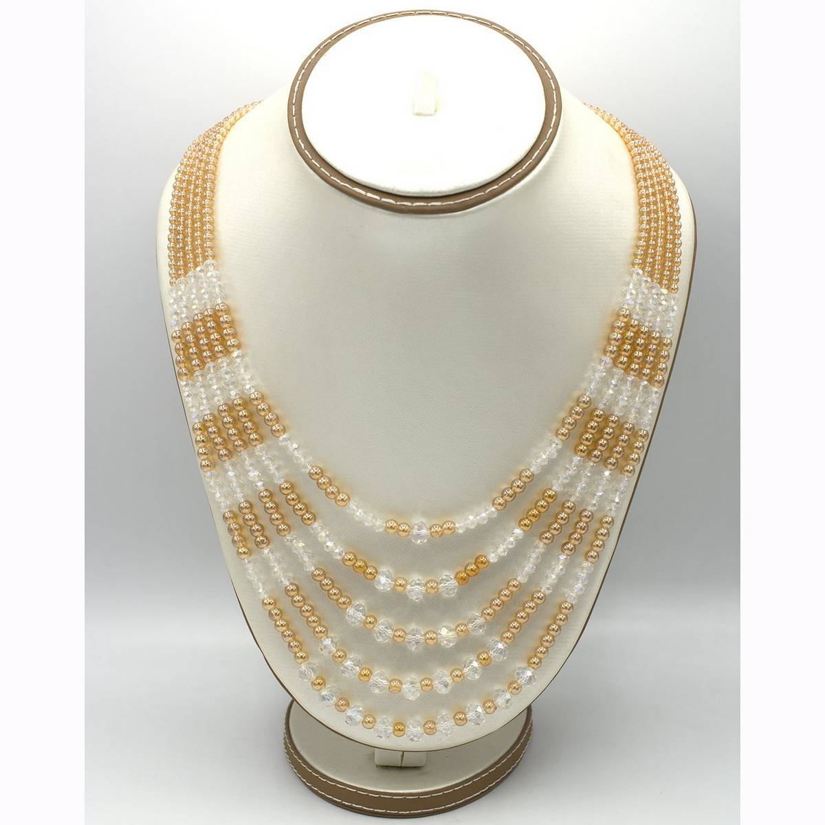 Famous mala fashionable design pearl style cyrstal
