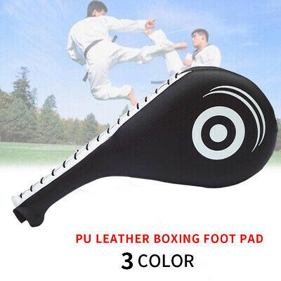 1Pcs Taekwondo Karate Kick Strike Floppy Paddle//Clapper Target Pad Red