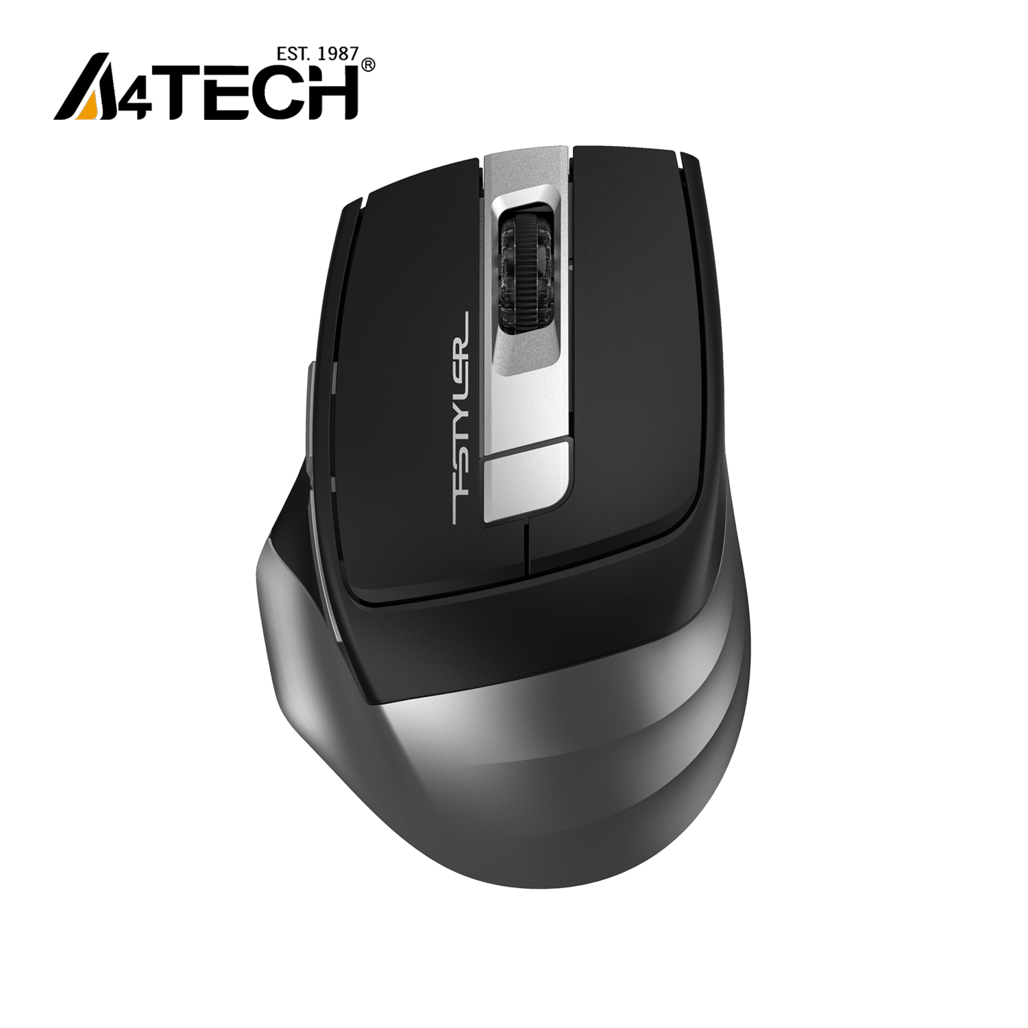 A4Tech FB35S - FSTYLER- Bluetooth & 2.4G Mouse - Silent Clicks - 2000 DPI - Connects Upto 3 Devices - For PC/Laptop/Tablet/Smart TV