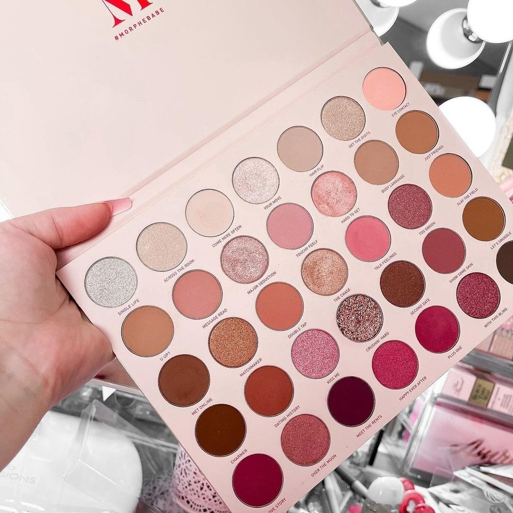Eyeshadow Palette 35 Colours – Branded – High Quality Imported Multicolor Eyeshadow Palette – Eyeshadow Kit – Makeup Kit – 35 Eyeshades Makeup Kit – 35XO Original Palette – All in one Makeup Kit