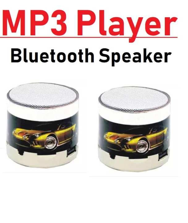 Mini Wireless Bluetooth Portable Speakers, MP3 Player, USB Speaker
