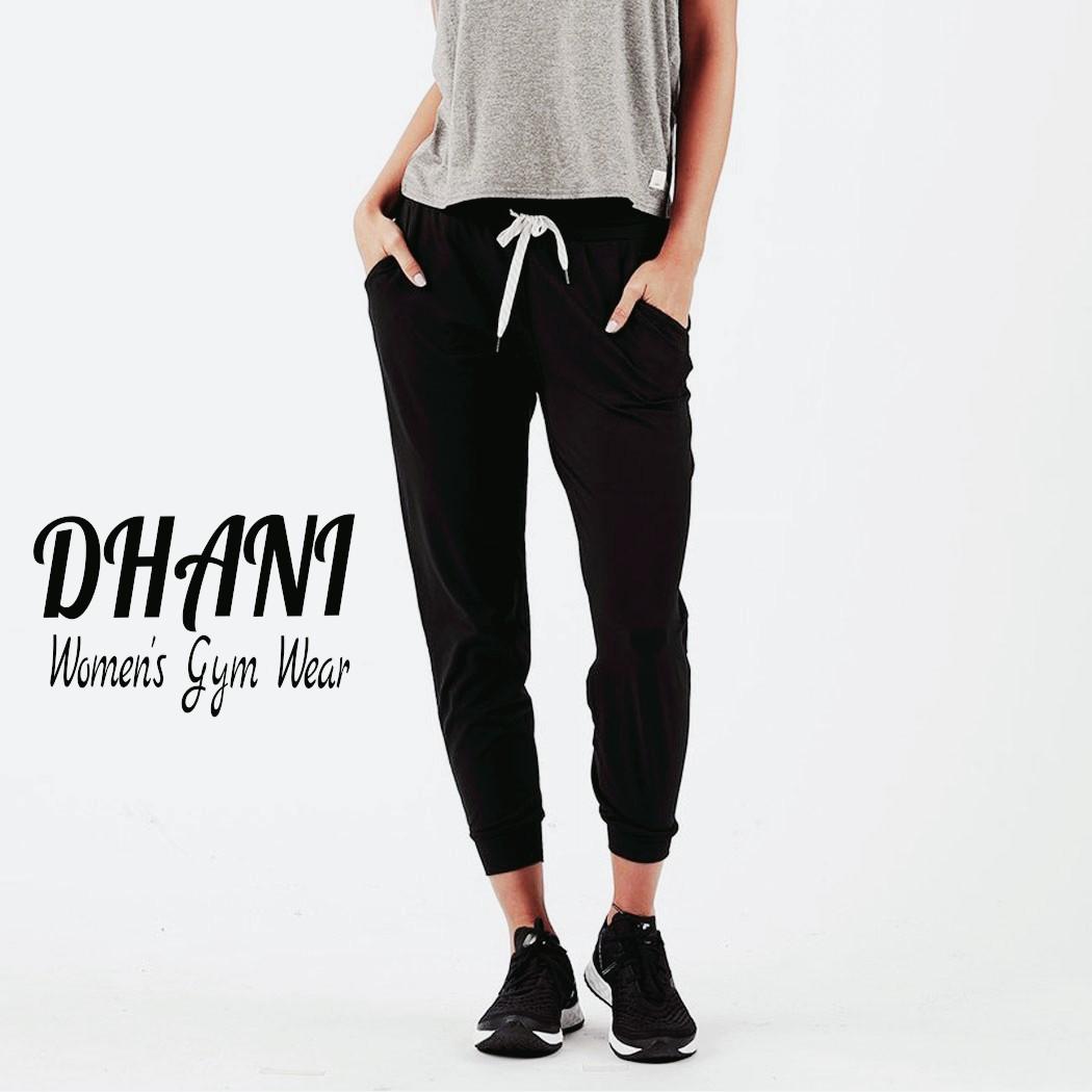 Women's Black Gym pants D07