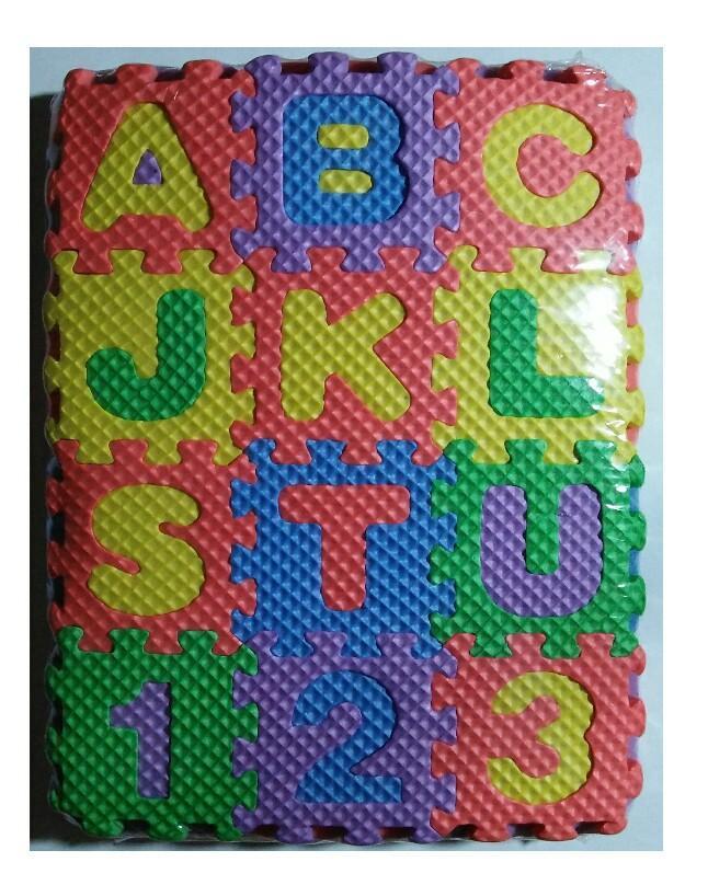 ABC & 123 Puzzle Foam Floor Mat for kids