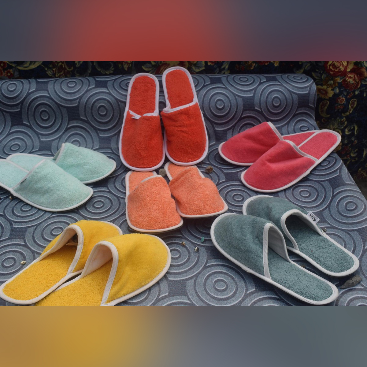 New High Quality Women Home Anti-slip Plush Slipper Winter Warm Cotton House Indoor Slipper