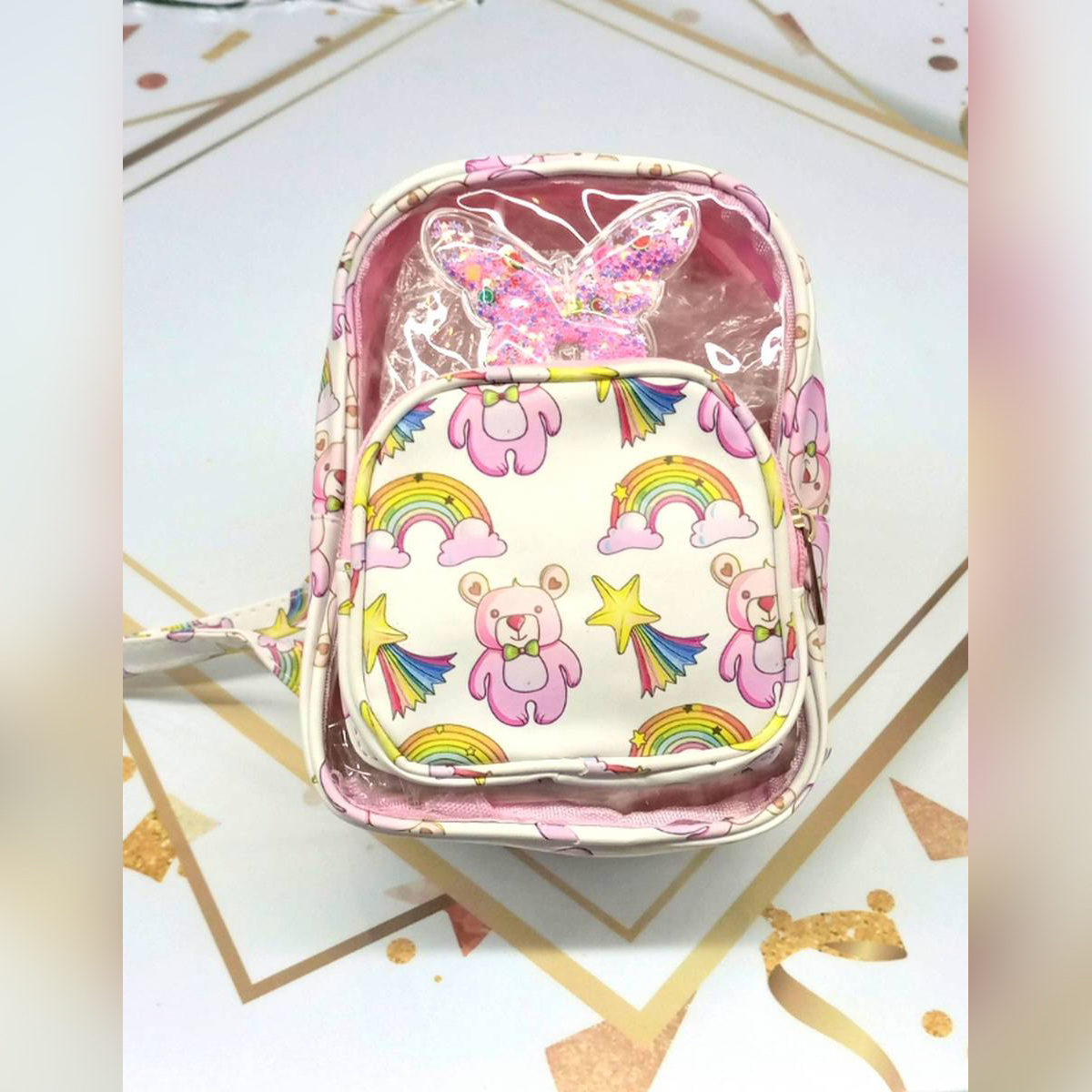 baby bag Sequins Backpack for EiD,picnic and parties