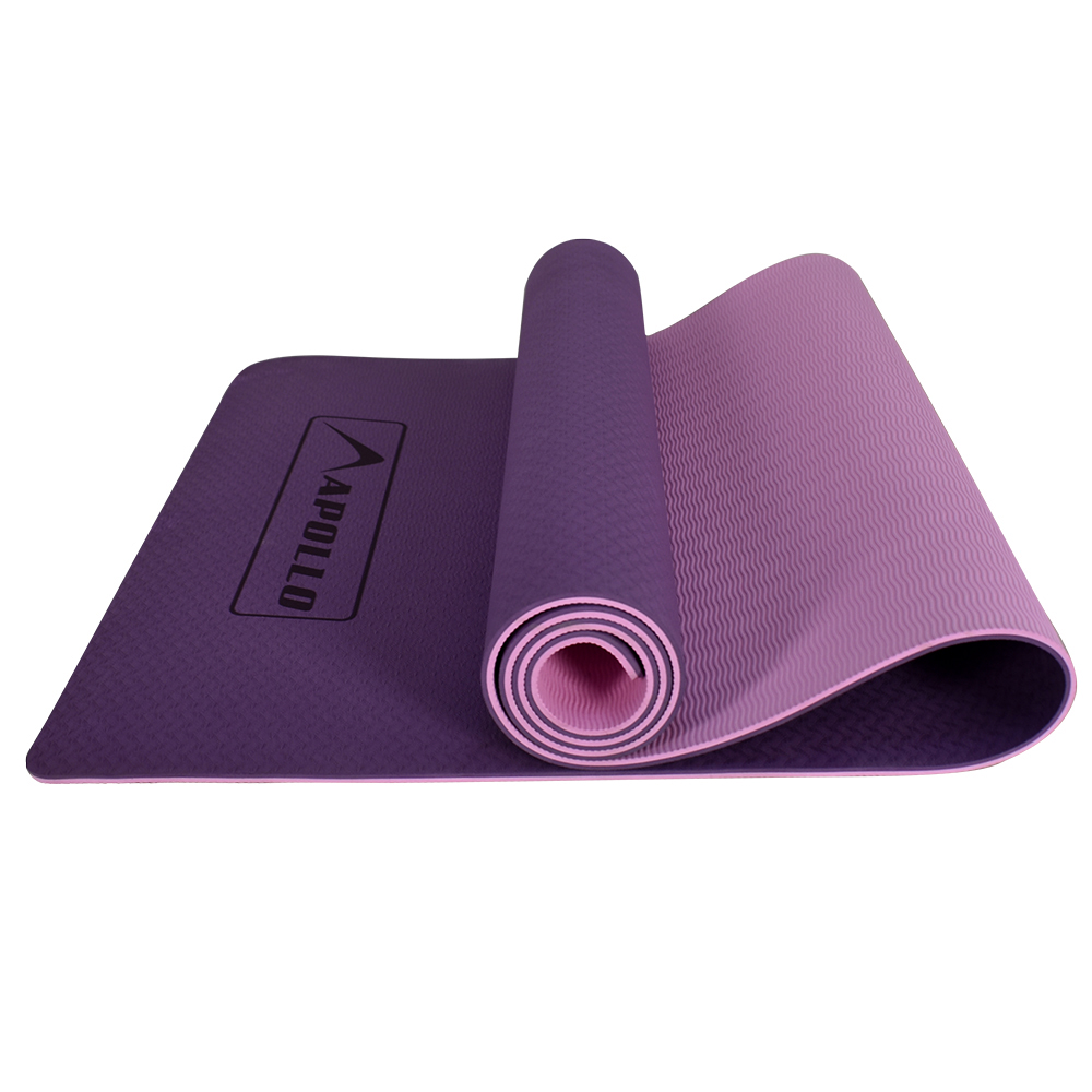 APOLLO YOGA EXERCISE MAT TPE MATERIAL 06MM THICKNESS FA0705