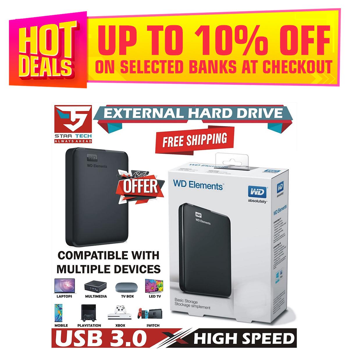 USB 3.0 Portable External Hard Drive 1TB 1000GB 750GB 640GB 500GB 320GB 250GB 160GB 120GB 80GB Portable Hard Disk