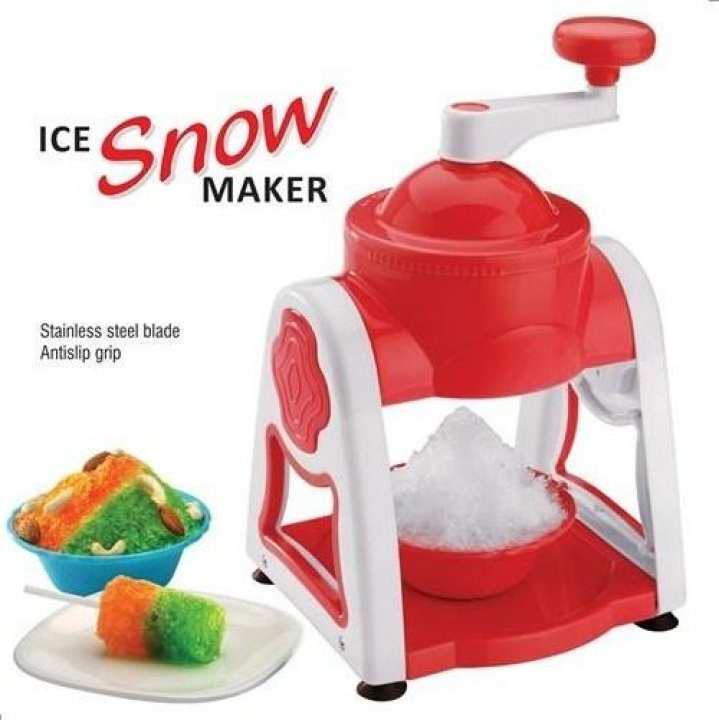 Ice Crusher Manual Ice Shaver Grinder House Snow Machine Gola Ganda Machine Manual