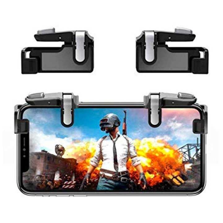Phone Gamepad Trigger Fire Button Aim Key Smart phone Mobile Games L1R1 Shooter Pubg Controller V3.0
