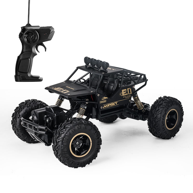 Rock Crawler RC Car Vehicles 4WD 1:16 2.4G Aluminum Alloy Metal Car Shell Toys Gifts for Kids
