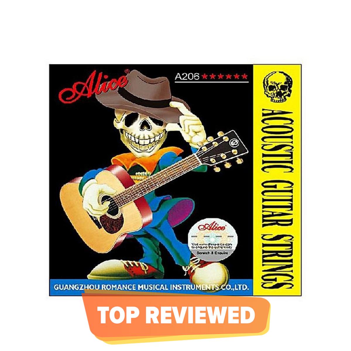 Alice Acoustic Guitar Strings Set  Copper  (.011 - .052)