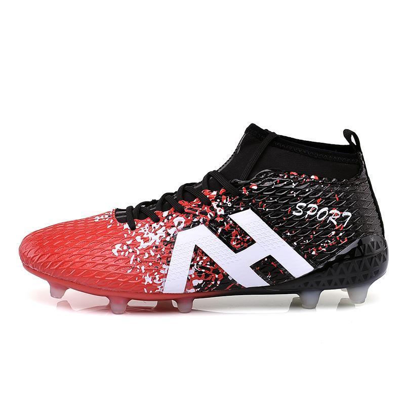 86717d296 Men s Classic Socks Football Shoes Men Medium Upper Sports Training Shoes  High Quality New Style Star s