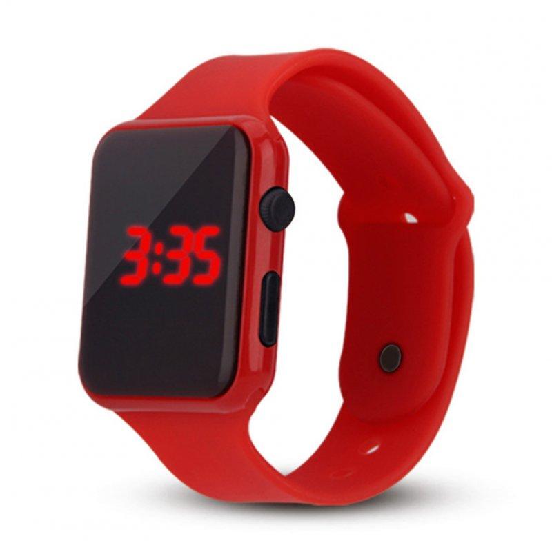 Silicone Smart Watch Digital Watch LED Watch Smart Sports Watch Commando Watch