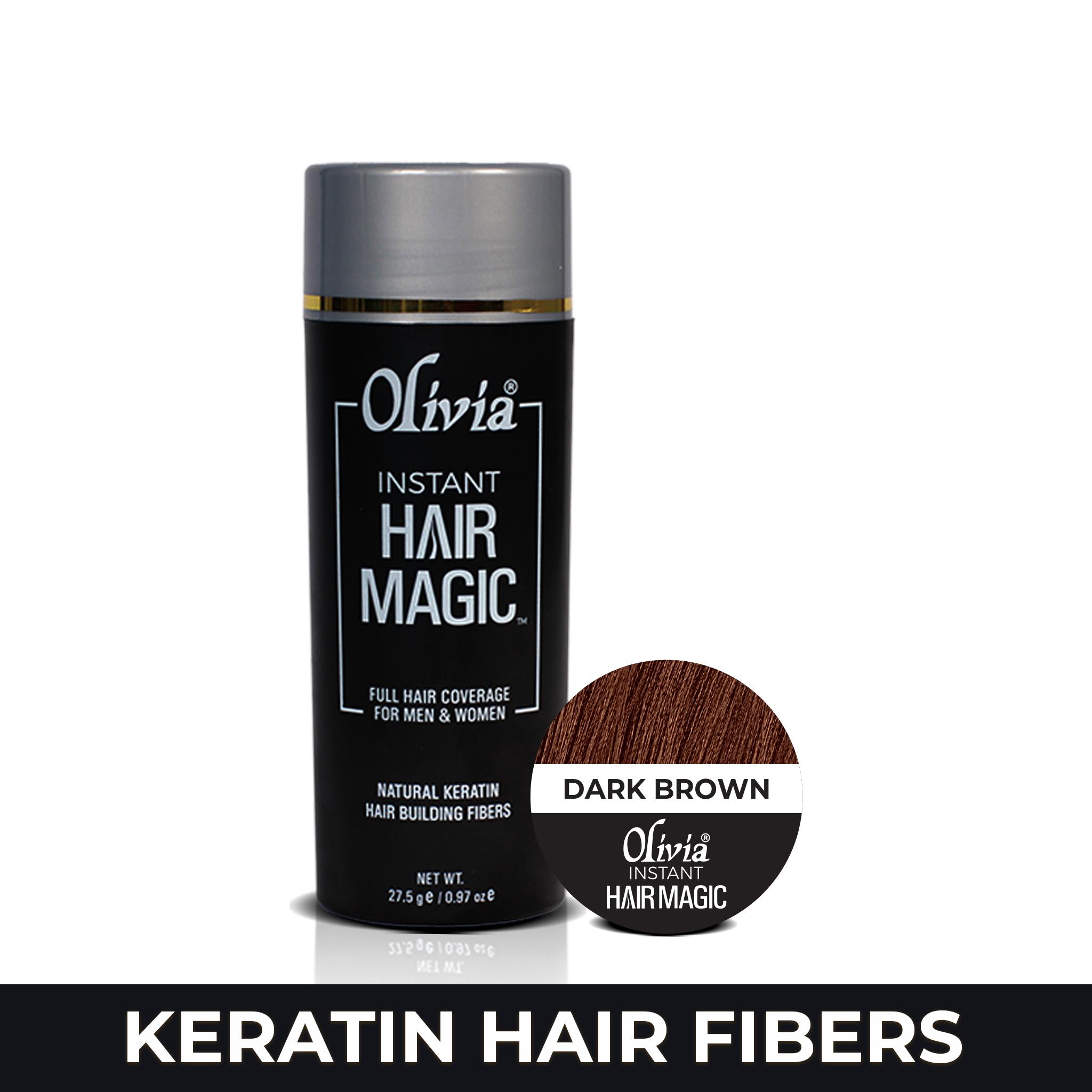 Olivia Instant Hair Magic - Dark Brown