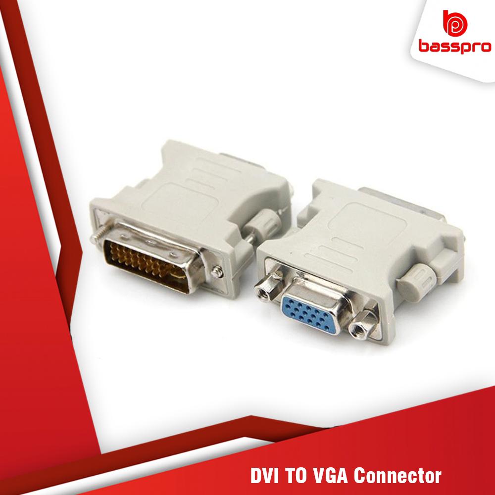 BassPro DVI To VGA 24+5 Connector Adaptor