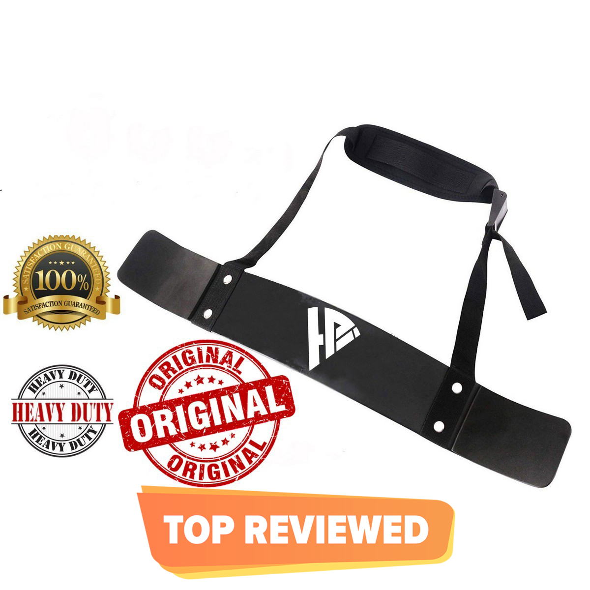 Premium Quality Bicep Isolator, Arm Blaster, Barbell Bar Weight Lifting for Gym Curls Weightlifting Strength Support for Big Biceps Muscle Gain  Arm Support Straps Gym TrainingHome Gym tools Indoor & outdoor.
