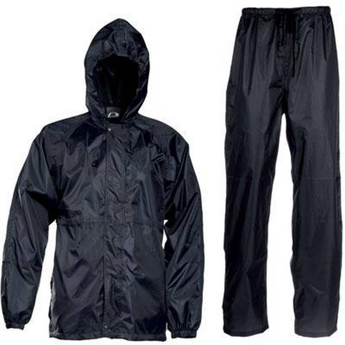 Rain Coat Waterproof Jacket Or Suit For Bike Ride Or Outdoor Activities Blue Black