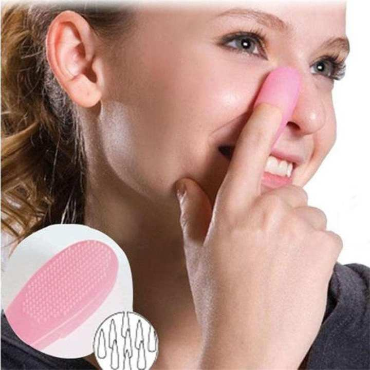 Blackhead Removal Finger Brush Face Cleansing Extractor Remover Tool