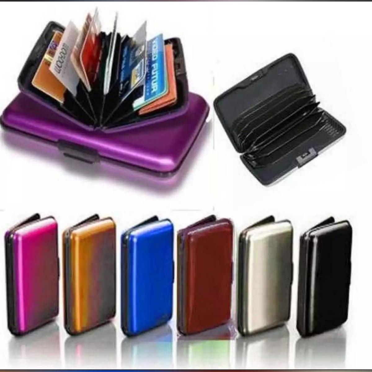 Aluminium Case Water Proof Aluma Wallet Multicolor for Men and Women