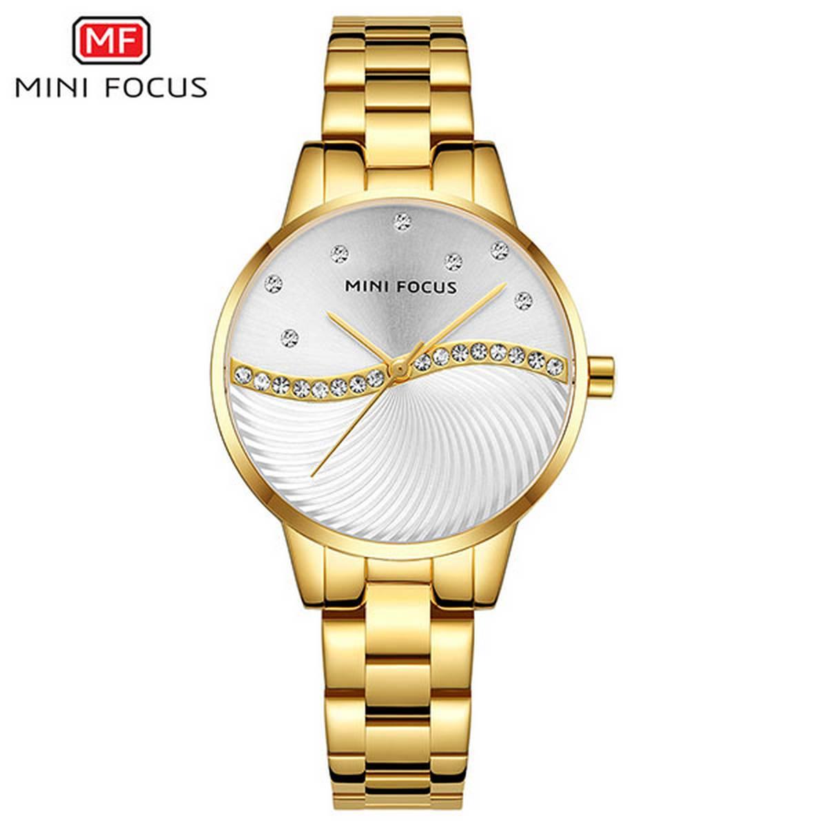 Mini Focus MF-0263L Chain Watch For Woman