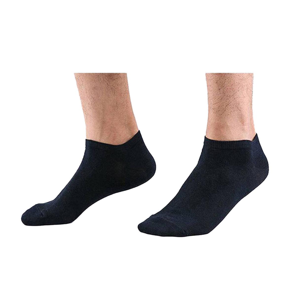Cotton Low Cut Ankle Socks for Men Women – Pack of 3 - 6 - 9 - 12 Pair – Multi Color