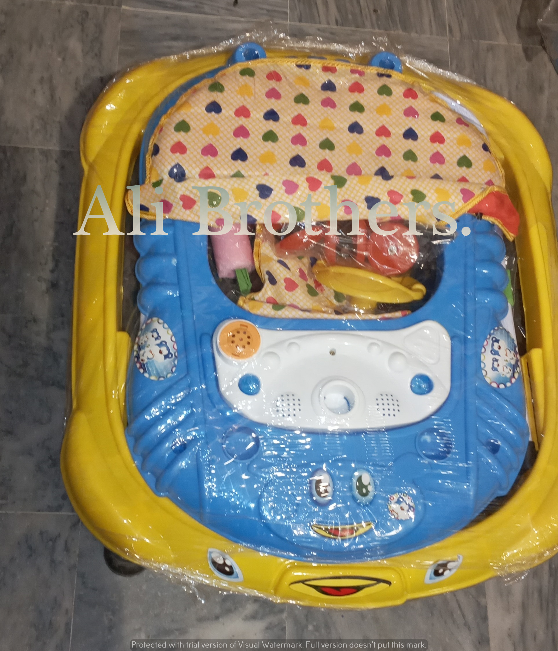 Baby Walker  With Both Side Neck Support & Lights Music