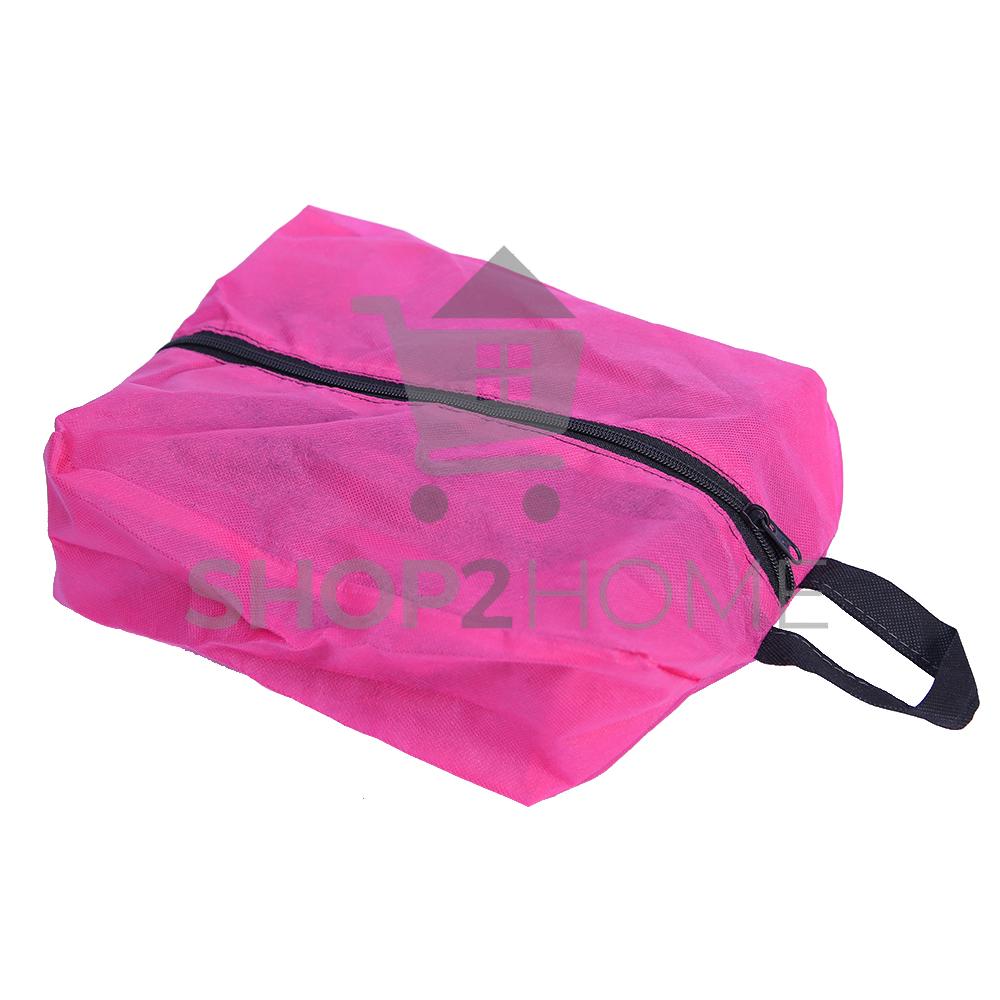 Shoe Bag Portable Travel Shoes Bags with Zipper Closure 1 Pcs