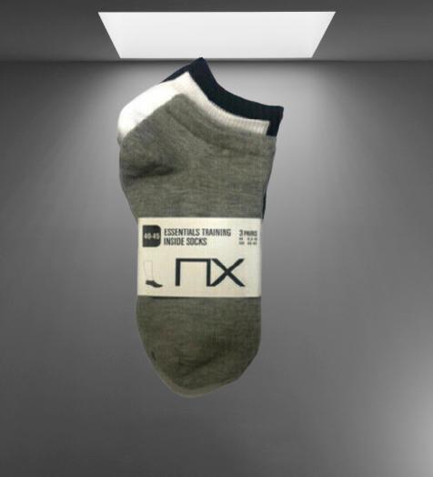 3 Pair Ankle Socks, Half Socks, Cutting Socks, Cotton Socks