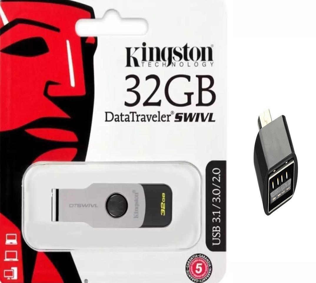 Swivl 32gb Usb (+ Free Otg) Flash Drive, 6 - Months Warranty