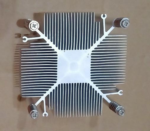 aluminium heat sink 9.5cm X 9.5cm X 2cm