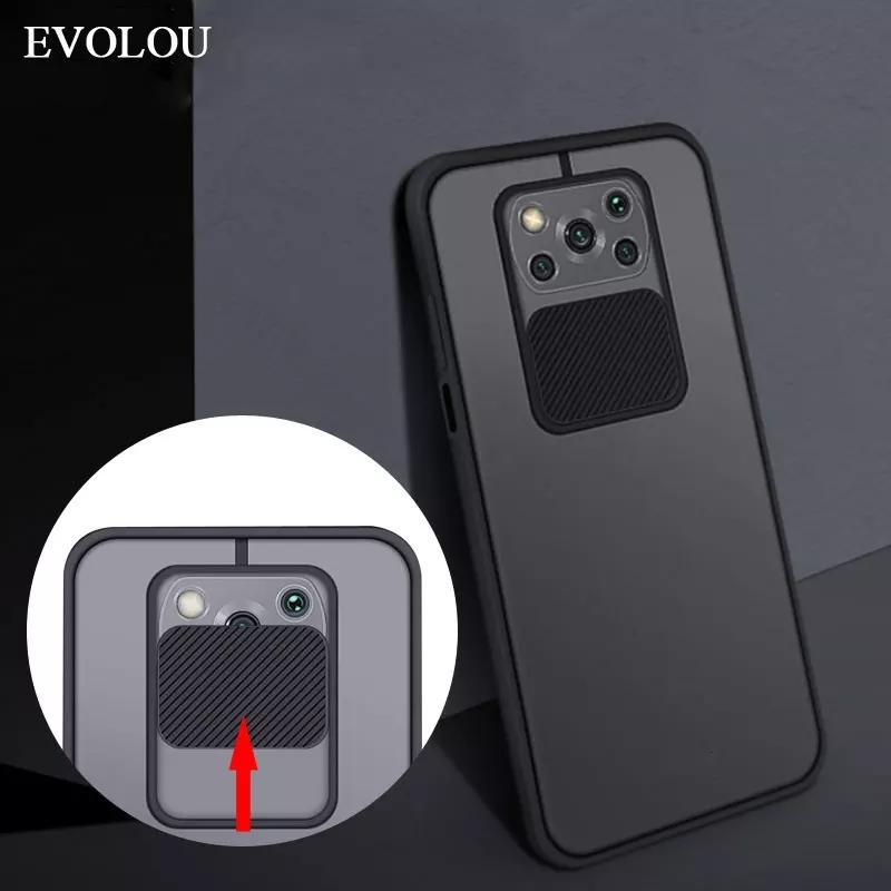Xiaomi POCO X3 NFC / Poco X3Pro Case Slide Camera Lens Protection Phone Cover