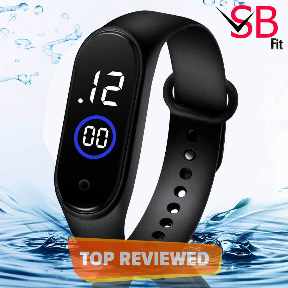 Waterproof Sport M4 Touch Led Digital Watch For Boys & Girls SB FIT - All Colours